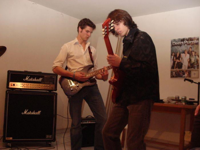 Gibbs strummer and Chris
