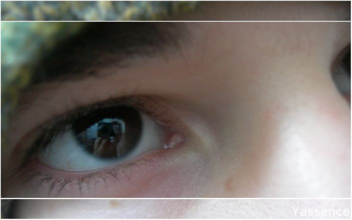 mes yeux.