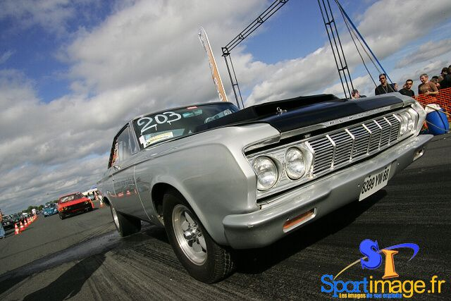 Plymouth Belvedere 1963 de S. Zaninetti. http://SportImage.f
