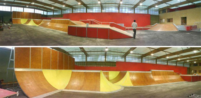 Nouveau Skatepark d'Angouleme :S