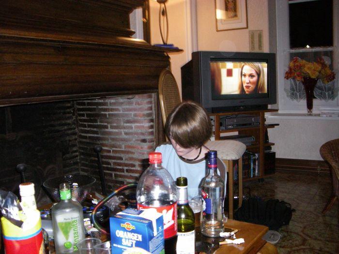 Bah si ya la télé chez Brieuc_=P