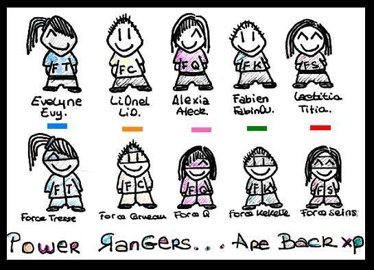 P0WER RANGERS XD