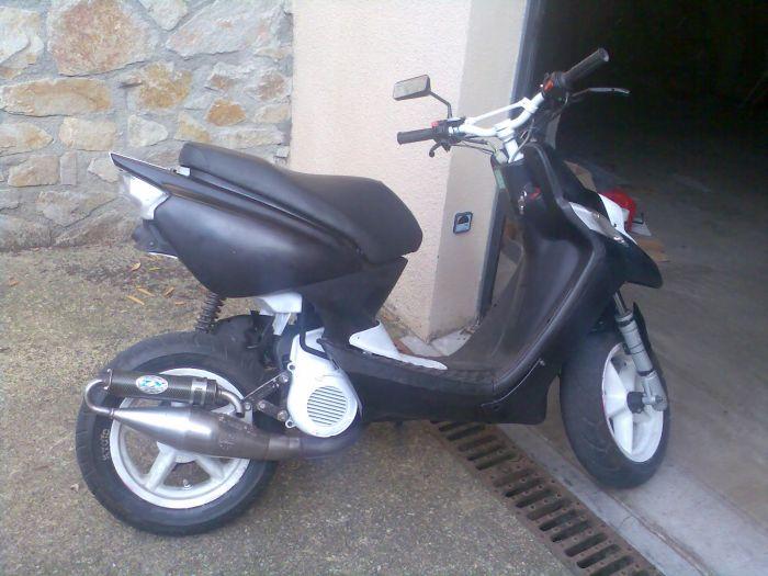 cetai mon ancien scooter