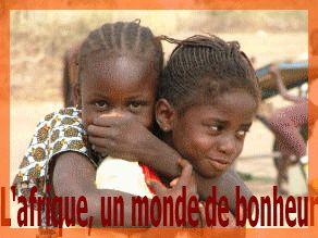 l'Afrique, un monde de bonheur