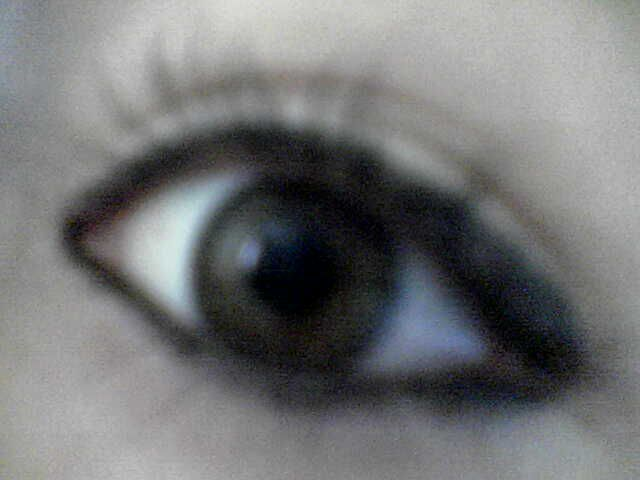 just my eyes
