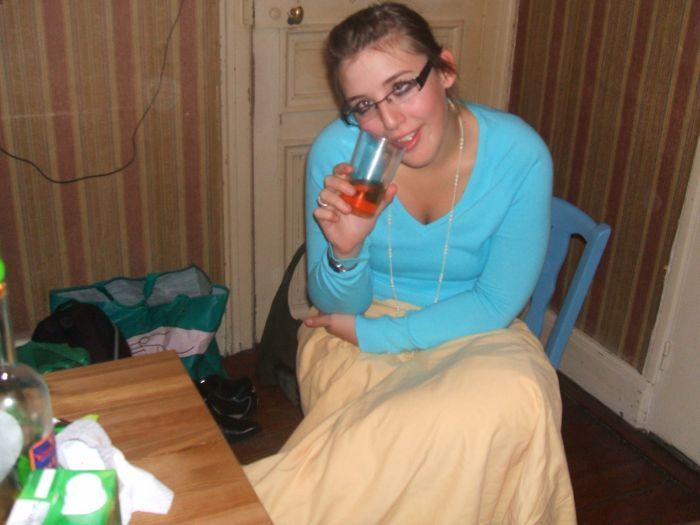 Un verre de Manzana a la main :p
