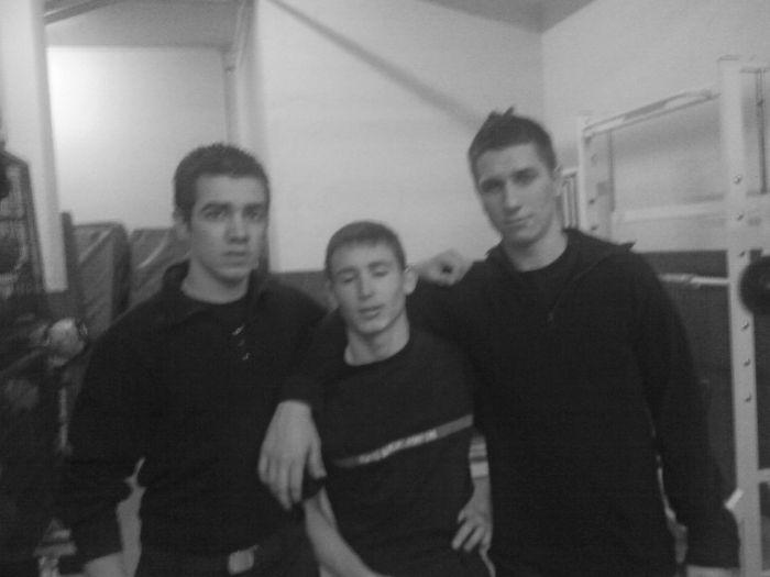 Kévin, Eric, Nicolas