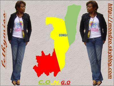 une congolaise qui represente!