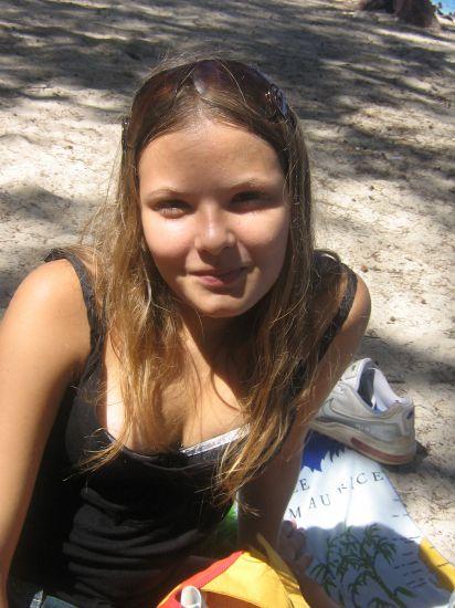 A la plage { Photo qui date de 2 ans }