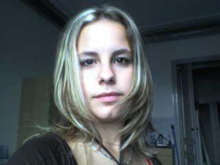 moi en blonde