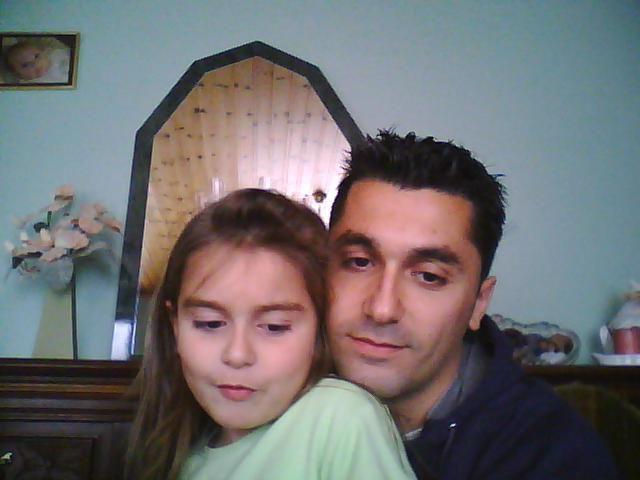 Mon frere et sa petite fille Laura