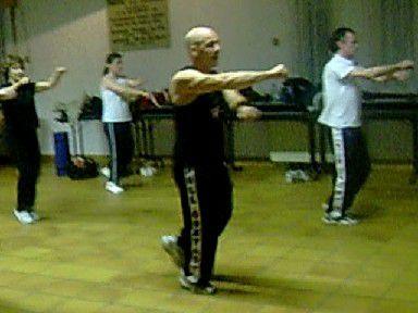 karaté fitness,on a 4 club.