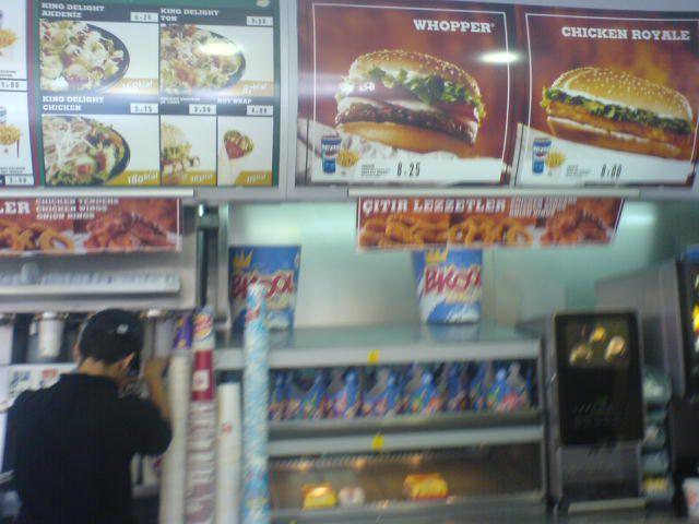 Burger King Turc....