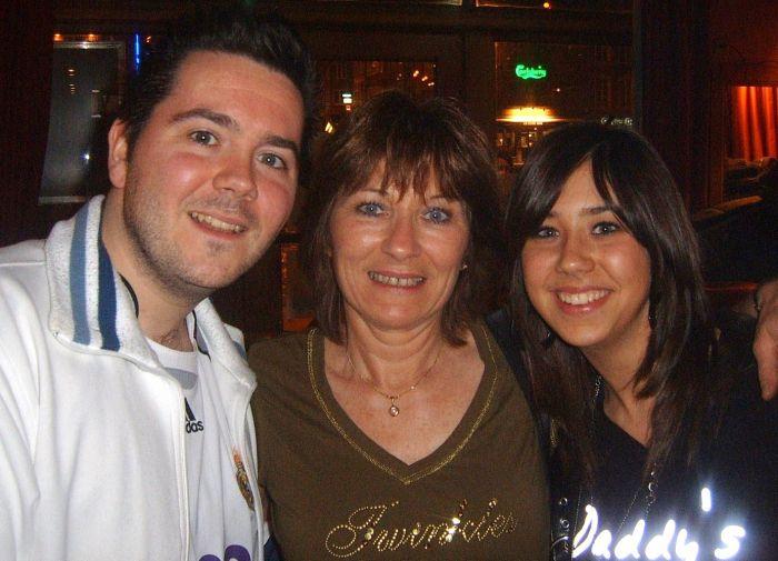 Juan, Paulette y Sandra