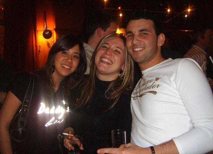 Sandra, Cristina y Ludo