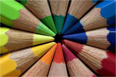 la vie  aime les couleurs