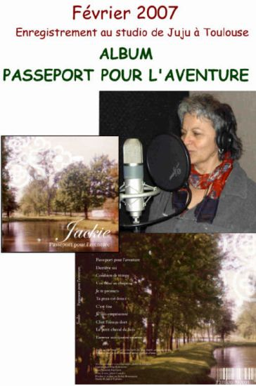enregistrement de mon album janvier 2007