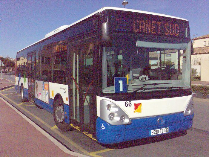 Irisbus Citelis 12 de la CTPM