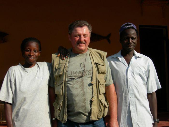 Au Sénégal : M'Benda, Mansour et moi