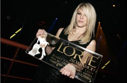 lorie disque d'or