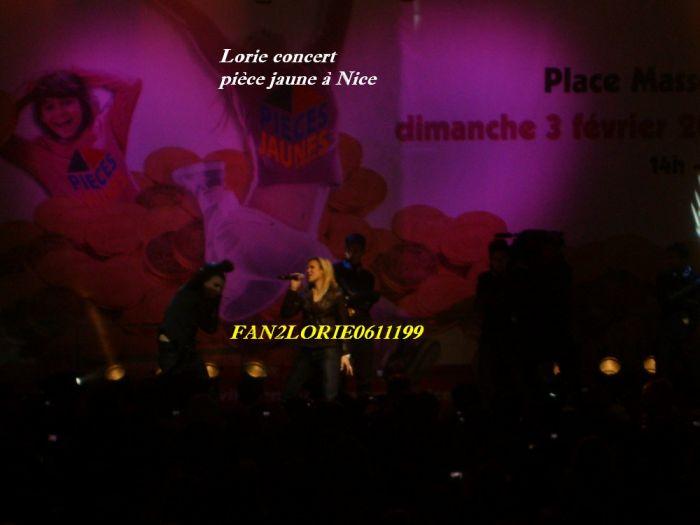 Lorie concert pièce jaune le 3.02.08