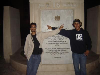 Mustafa and SImo in rabat