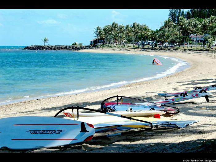 paysage de la plage de Nouvelle Calédonie