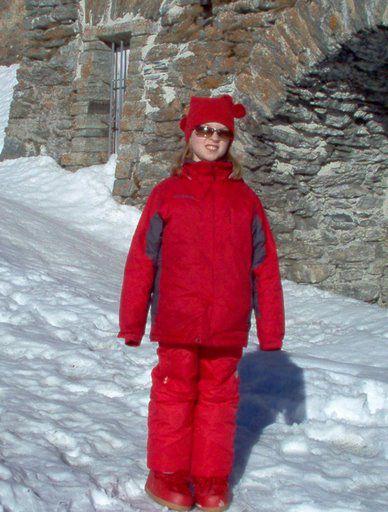 Ik In Zwitserland Op Sneeuwklasse