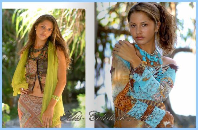 Vahinérii pose a 17 ans pour un magazine Tahitien