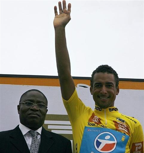 rony martias remporte 2 étape du gabon 2008