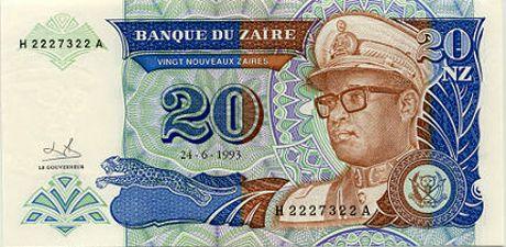 Mobutu ancient presid'ennt