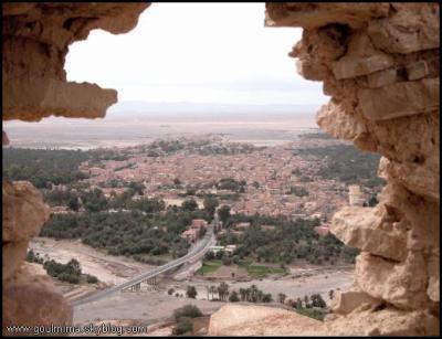 vue panoramaique de ma ville