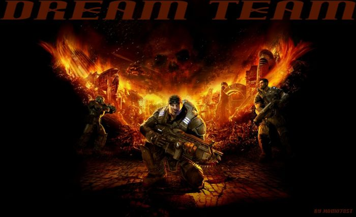 gears of war( top 5 des meilleurs délires)
