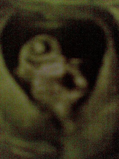 La 1er Echo photo de ma fille