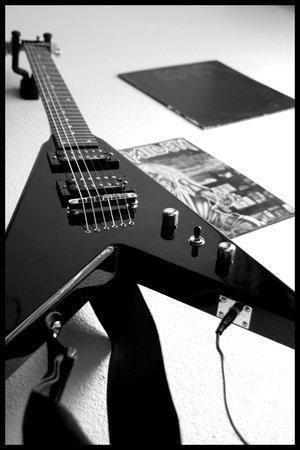 Ma future guitar, et le groupe que je verrai bientot