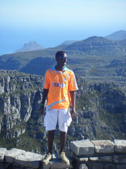 Sur les Hauteurs de Capetown en afrique du sud