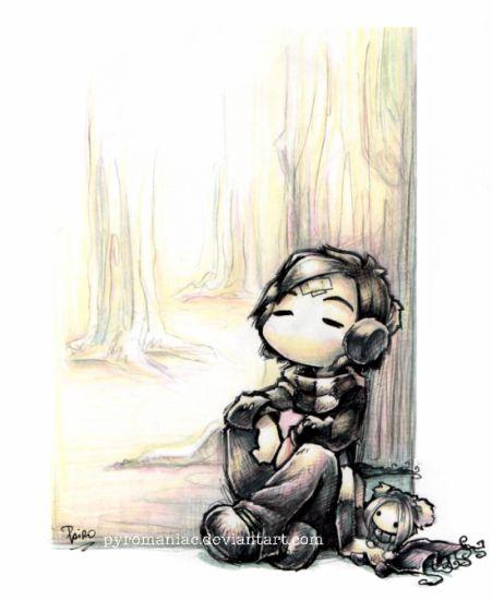 Juste pcq j'aime ce dessin.. je my retrOuve ^^