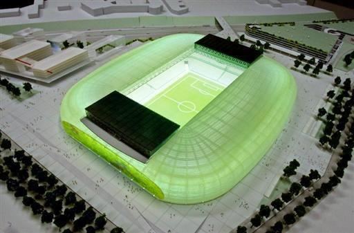 Maquette du grand stade de LILLE !!!