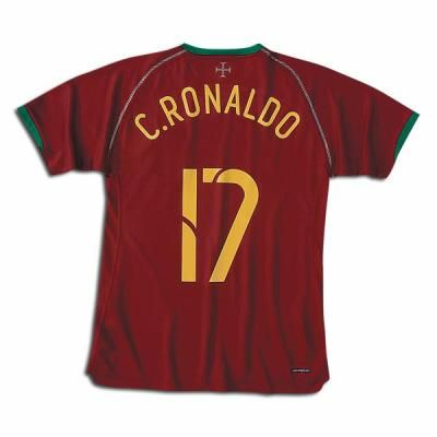 Le maillot de C.Ronaldo 17