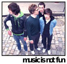 <3MUSIC IS NOT FUN <3 un groupe lyonnais *_*