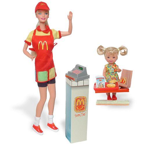 Barbie n'a plus d'argent , Elle travaille !