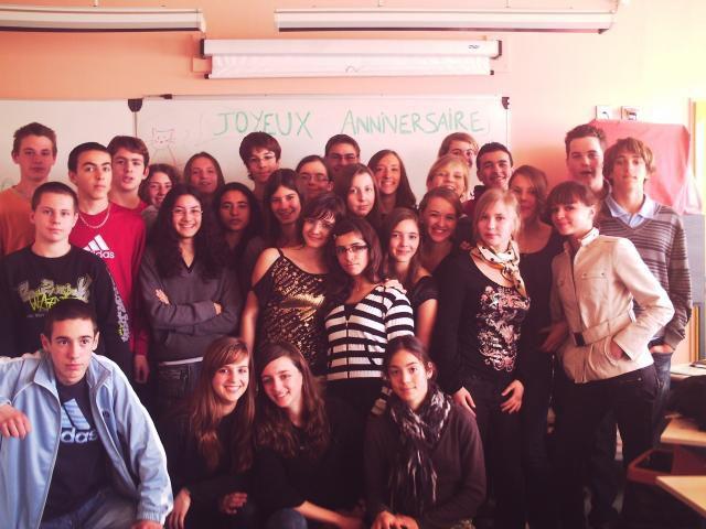 Une classe en Or.