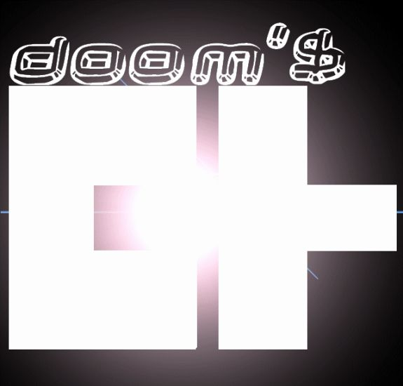Mon logo doom'$ in da house