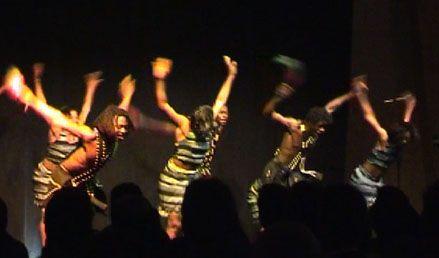 je suis passionné de la danse  Africaine   ......