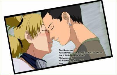 Shika: Embrasse moi Temarie: Je t'aime