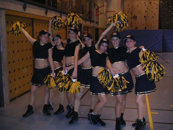 mon ancienne équipe de cheer