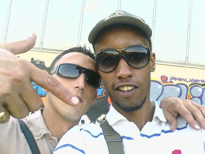 Moi et  Zako aka Mr D  la famix !!!