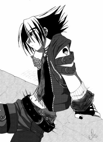 sasuke trOp stylé