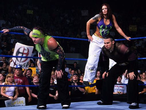 jeff hardy lita et matt hardy the team extreme