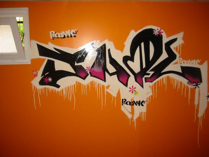 mur de ma chambre